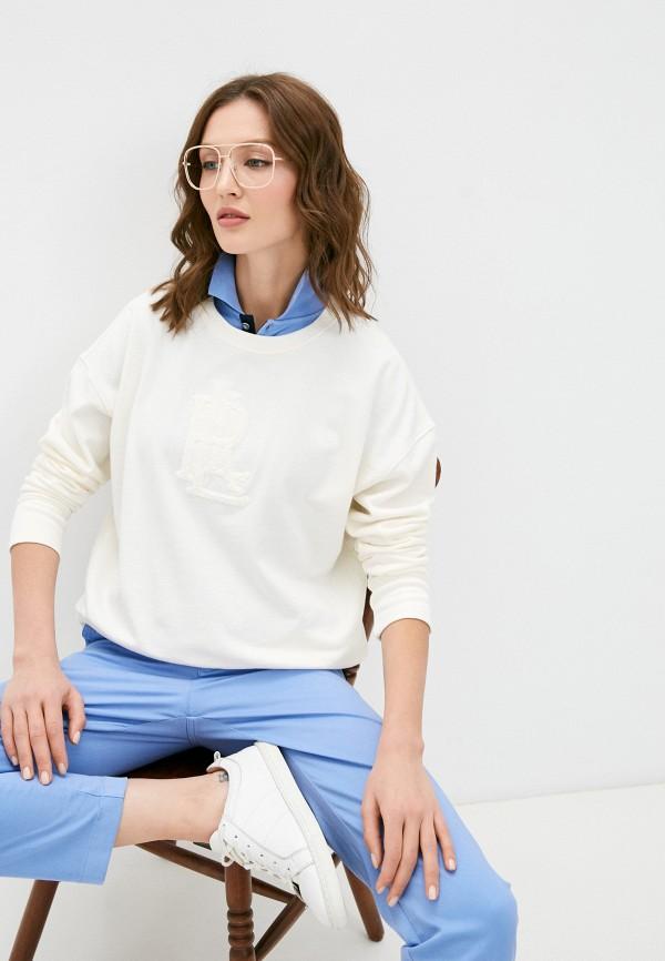 женский свитер lauren ralph lauren, бежевый
