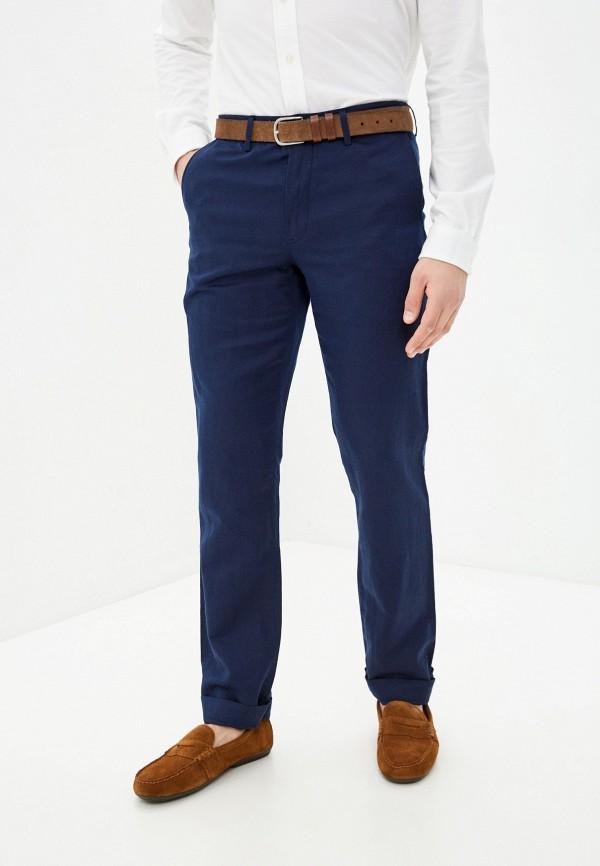 мужские прямые брюки polo ralph lauren, синие