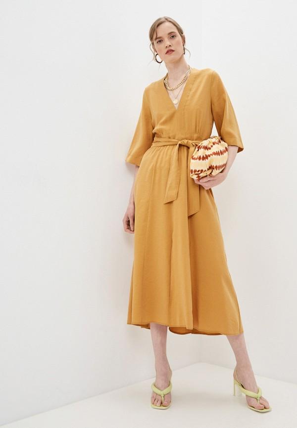 Платье Forte Forte желтого цвета