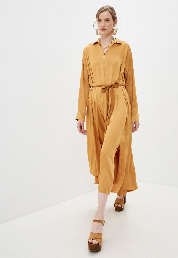 Платье Forte Forte коричневого цвета