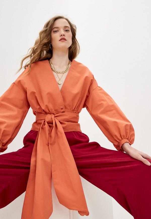 Блуза Forte Forte оранжевого цвета