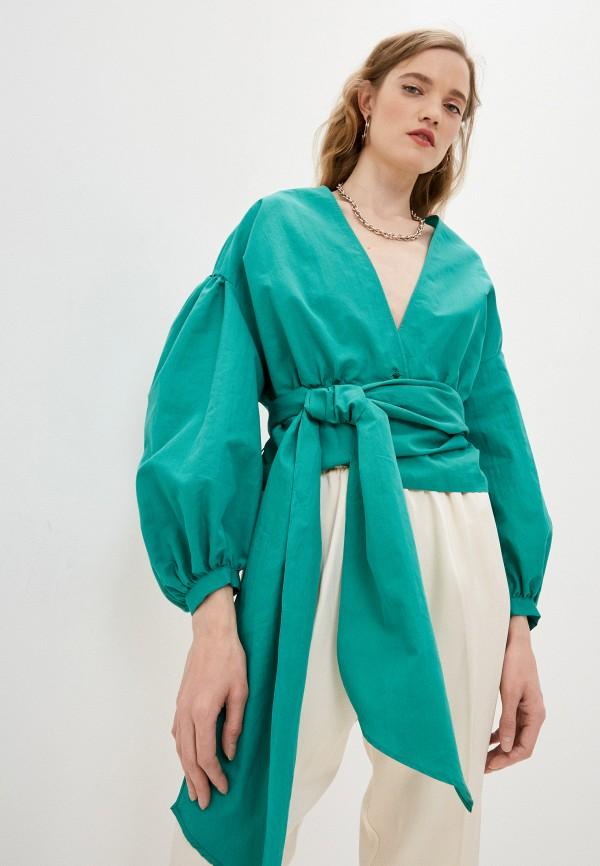 Блуза Forte Forte зеленого цвета
