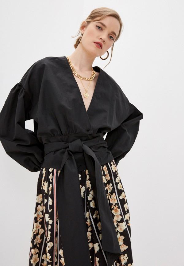Блуза Forte Forte черного цвета