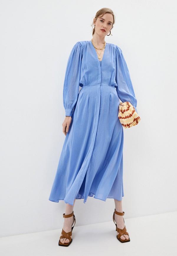 Платье Forte Forte голубого цвета