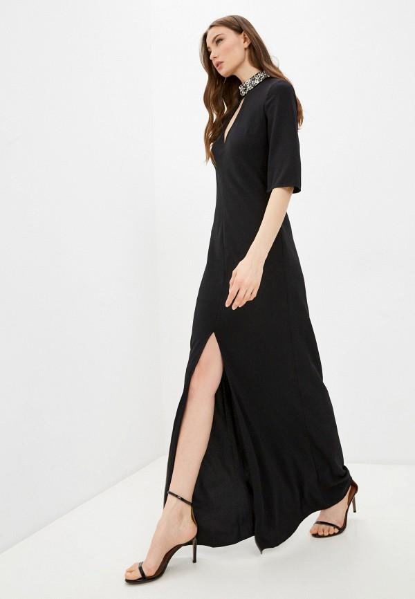 женское вечерние платье twinset milano, черное