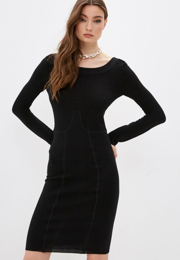 женское платье twinset milano, черное