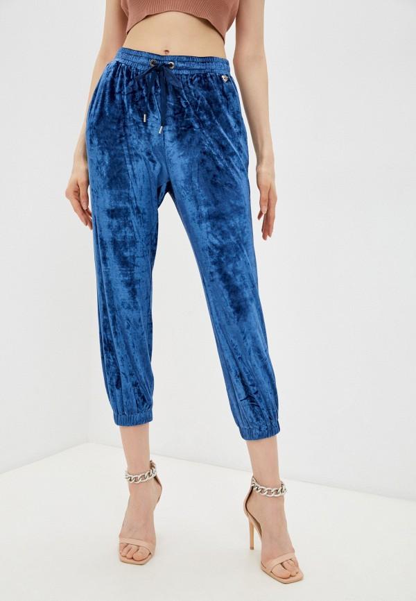 женские спортивные брюки twinset milano, синие
