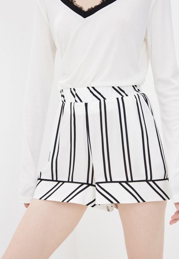 женские повседневные шорты twinset milano, белые