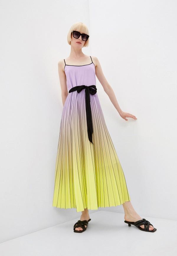 женский сарафан twinset milano, разноцветный