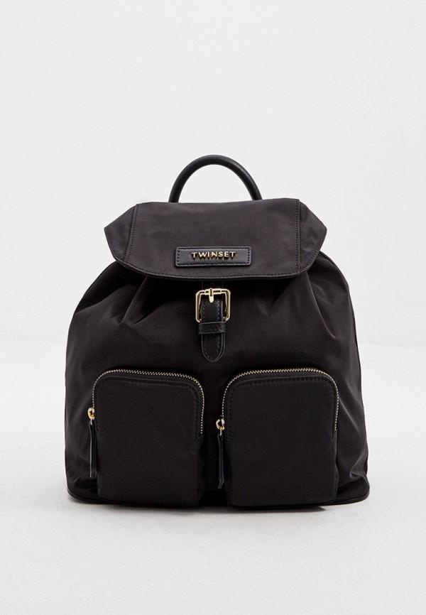 женский рюкзак twinset milano, черный