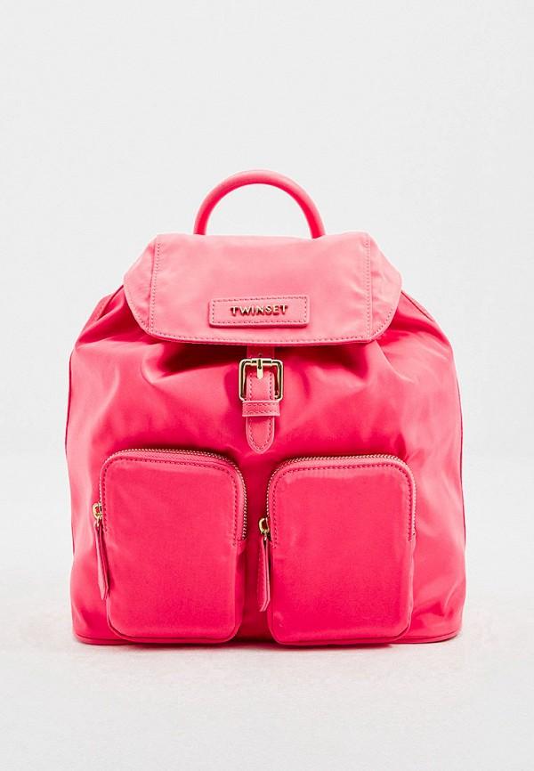 женский рюкзак twinset milano, красный