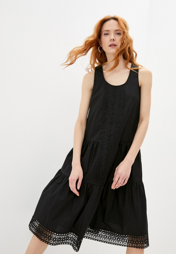 женское повседневные платье twinset milano, черное