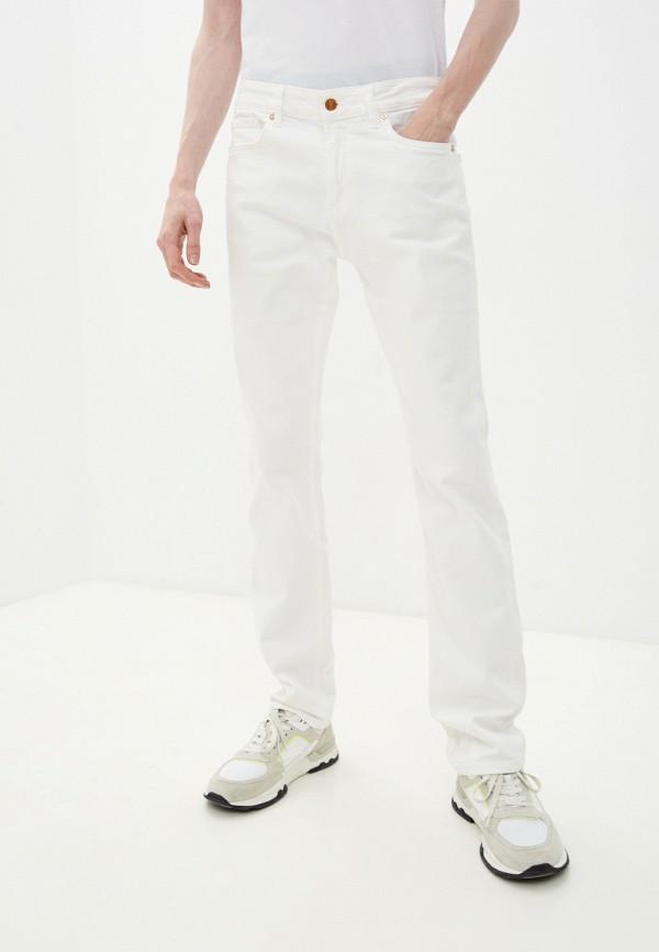 мужские прямые джинсы guess, белые