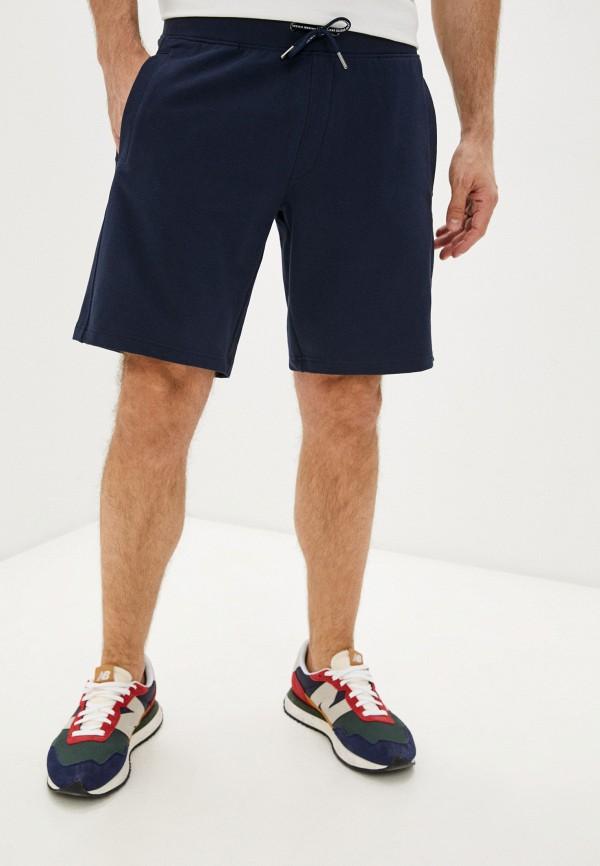 мужские спортивные шорты guess, синие