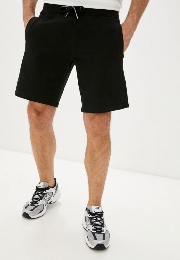 мужские спортивные шорты guess, черные