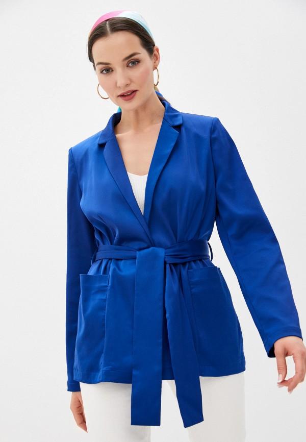 женский жакет guess, синий