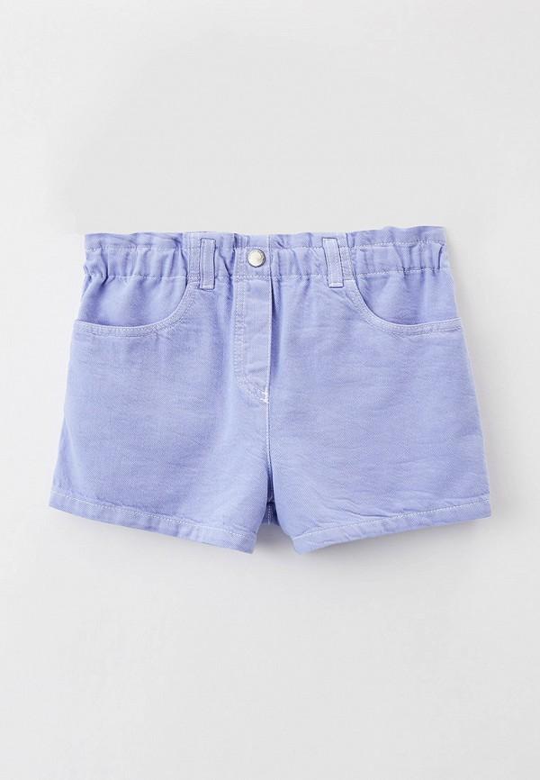 шорты emporio armani для девочки, фиолетовые