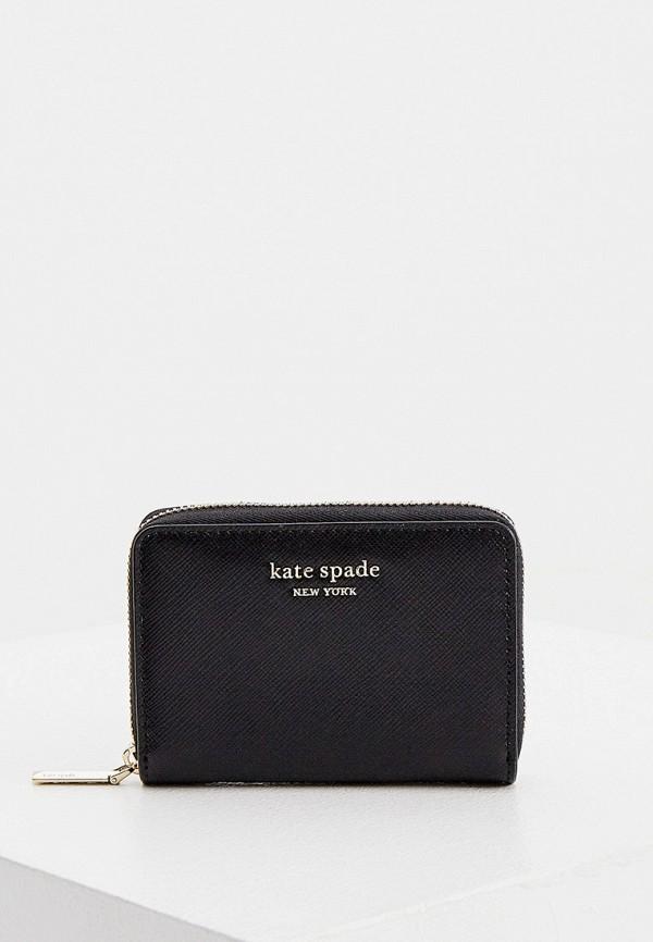 женский кошелёк kate spade, черный