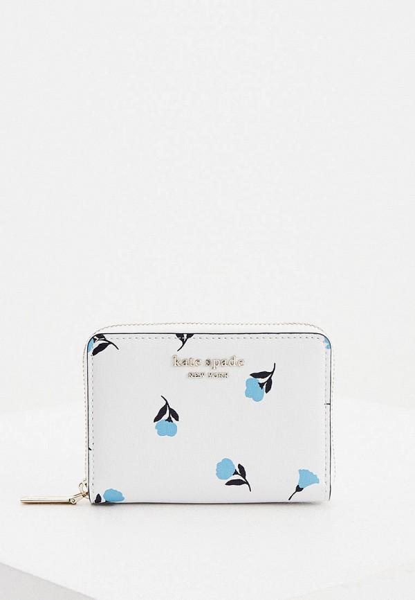 женский кошелёк kate spade, белый