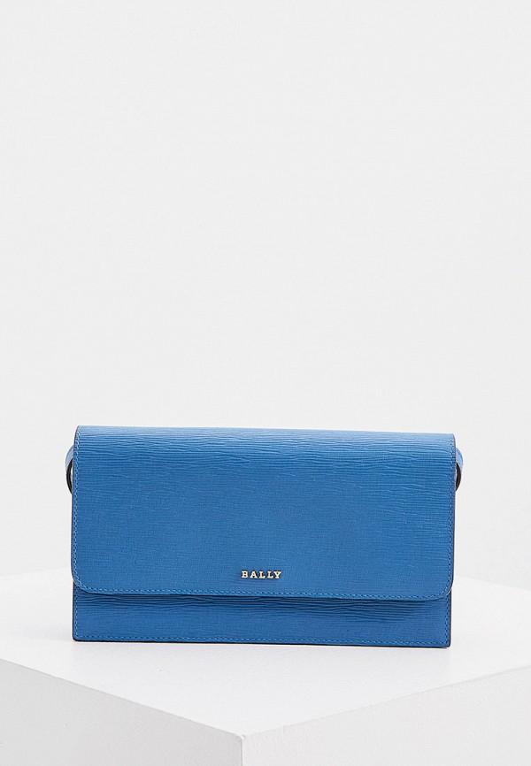 женский кошелёк bally, синий