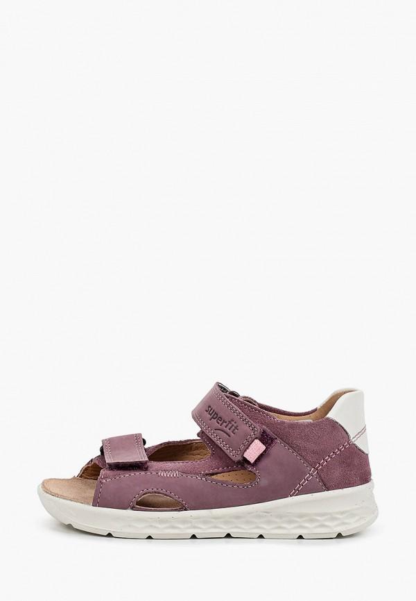 сандалии superfit для девочки, фиолетовые