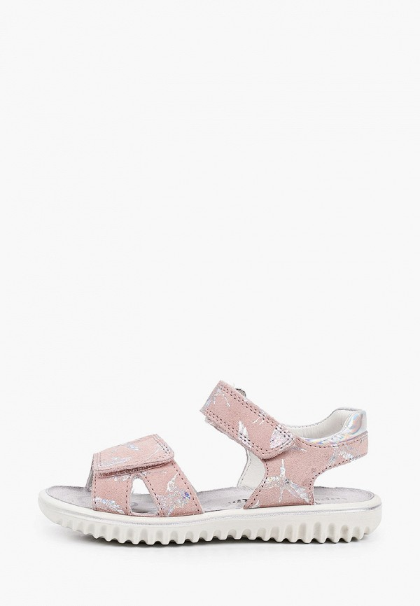 сандалии superfit для девочки, бежевые
