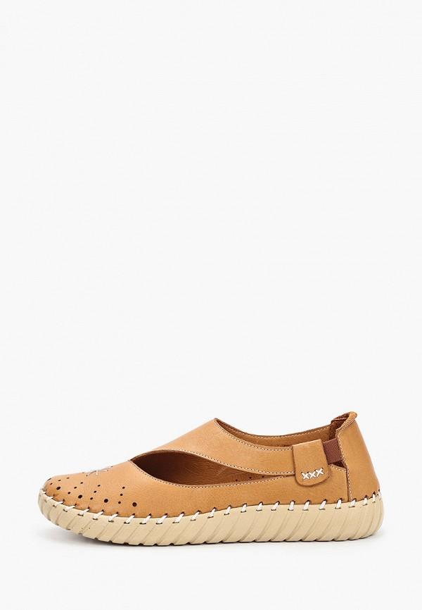 женские туфли nostalji, коричневые