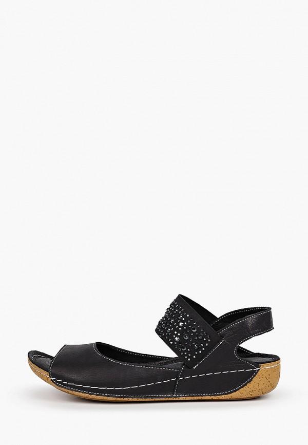 женские сандалии nostalji, черные