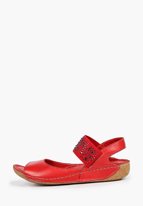 женские сандалии nostalji, красные