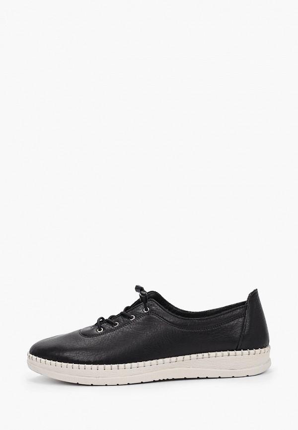 женские низкие ботинки nostalji, черные