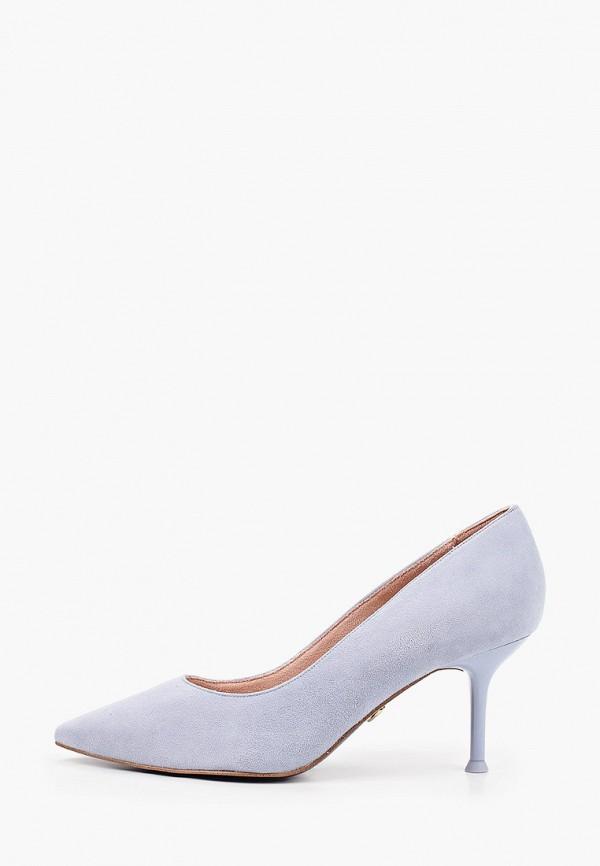женские туфли tamaris heart & sole, голубые