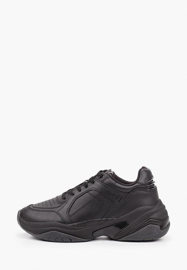 женские низкие кроссовки tamaris fashletics, черные