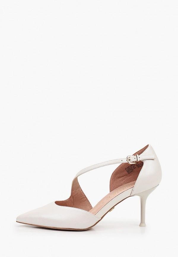 женские туфли tamaris heart & sole, белые