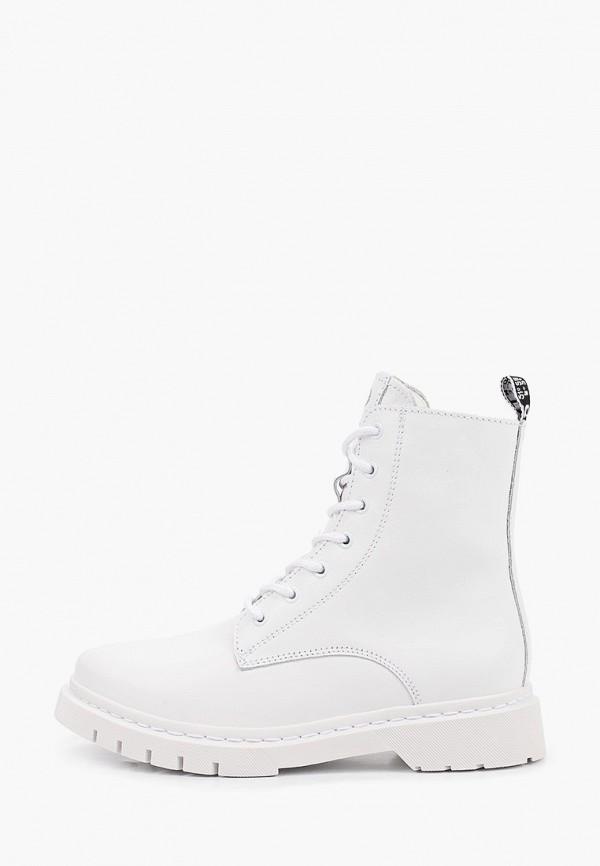 женские высокие ботинки tamaris, белые