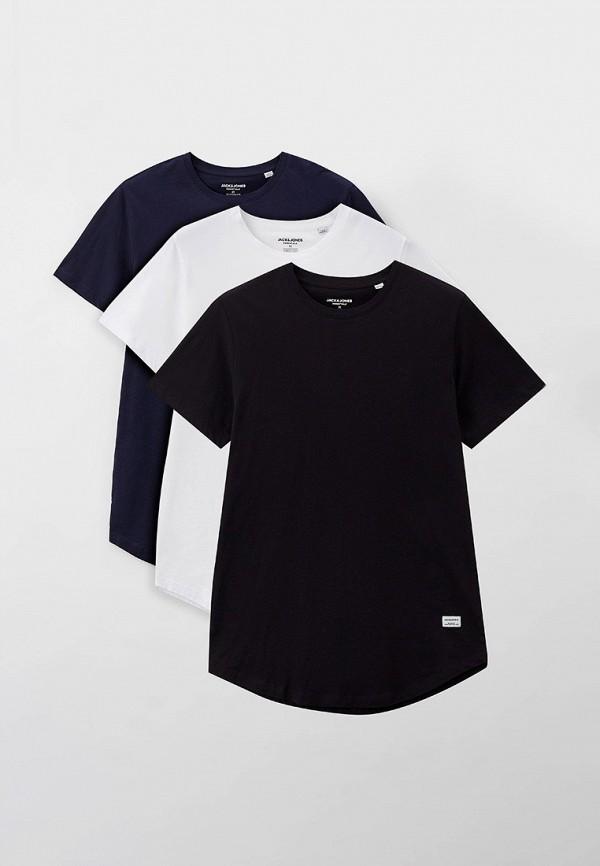 мужская футболка с коротким рукавом jack & jones, разноцветная