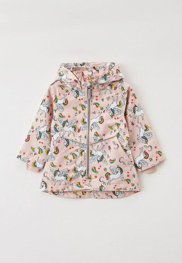легкие куртка name it для девочки, розовая