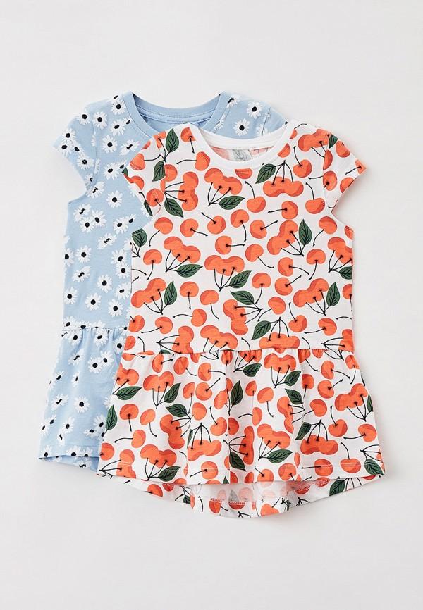 повседневные платье name it для девочки, разноцветное