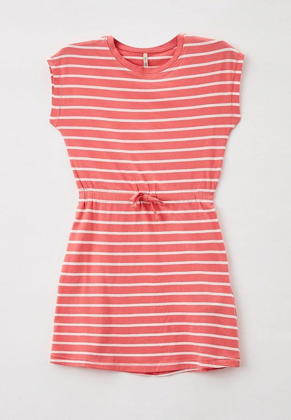 повседневные платье kids only для девочки, розовое