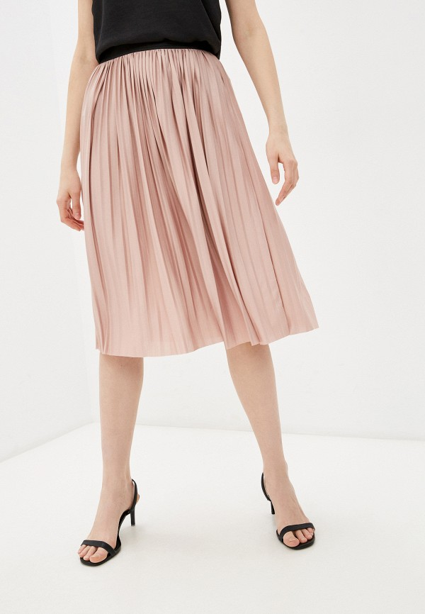 женская юбка jacqueline de yong, розовая