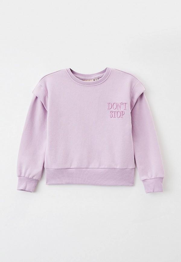свитшот kids only для девочки, фиолетовый