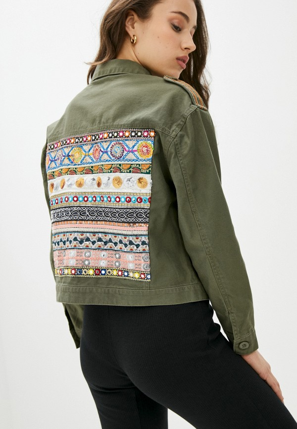 женская куртка only, хаки