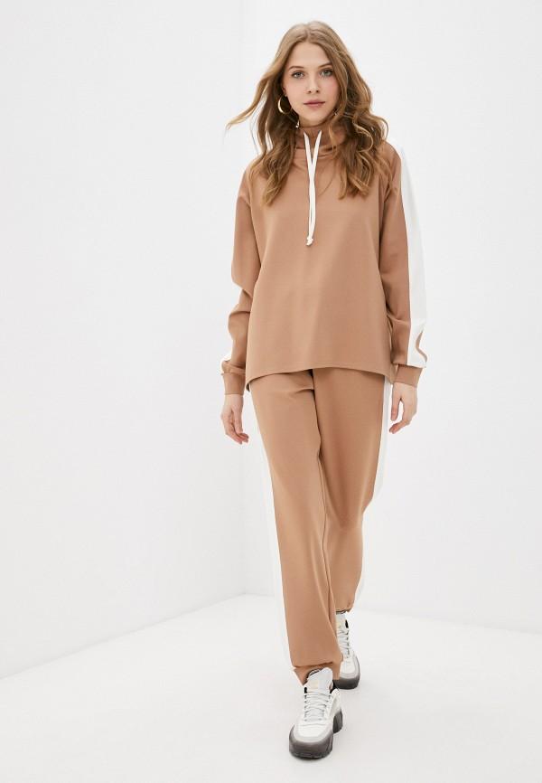 женский спортивный костюм trendyangel, коричневый