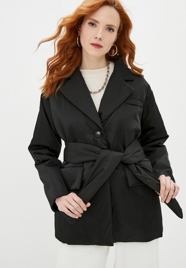 женская куртка snow airwolf, черная