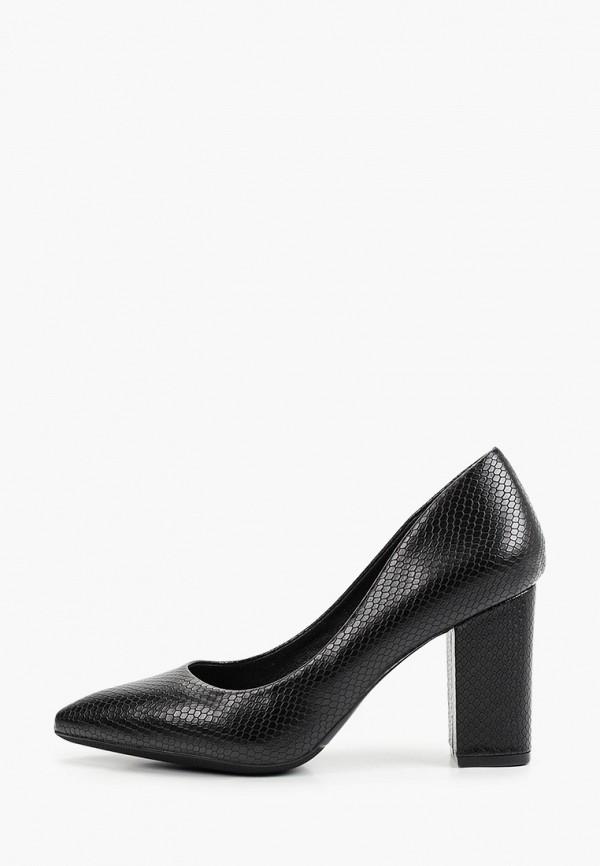 женские туфли с закрытым носом diora.rim, черные