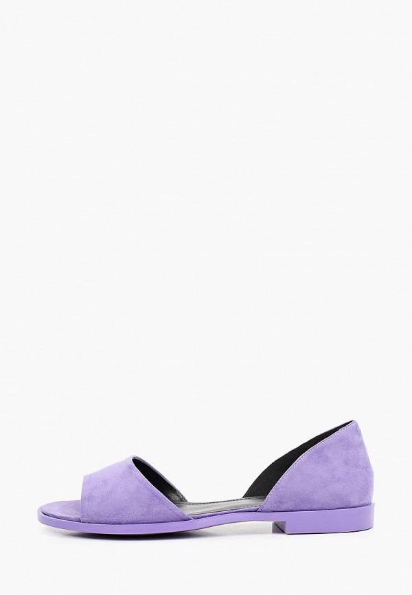 женские сандалии el tempo, фиолетовые