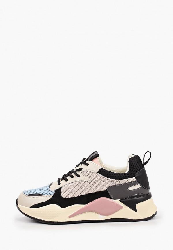 женские низкие кроссовки el tempo, разноцветные