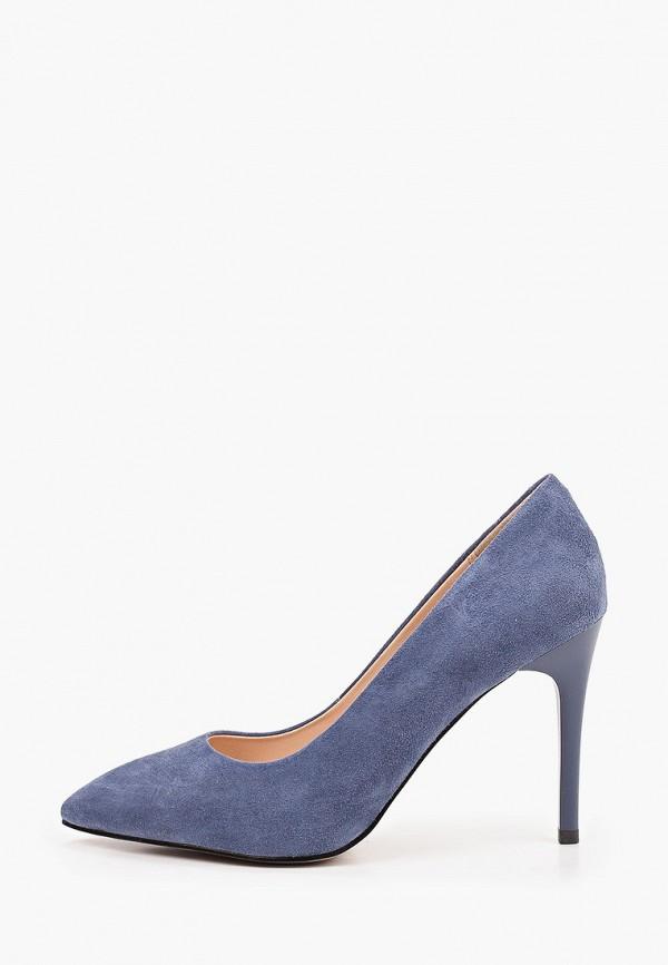 женские туфли-лодочки el tempo, синие