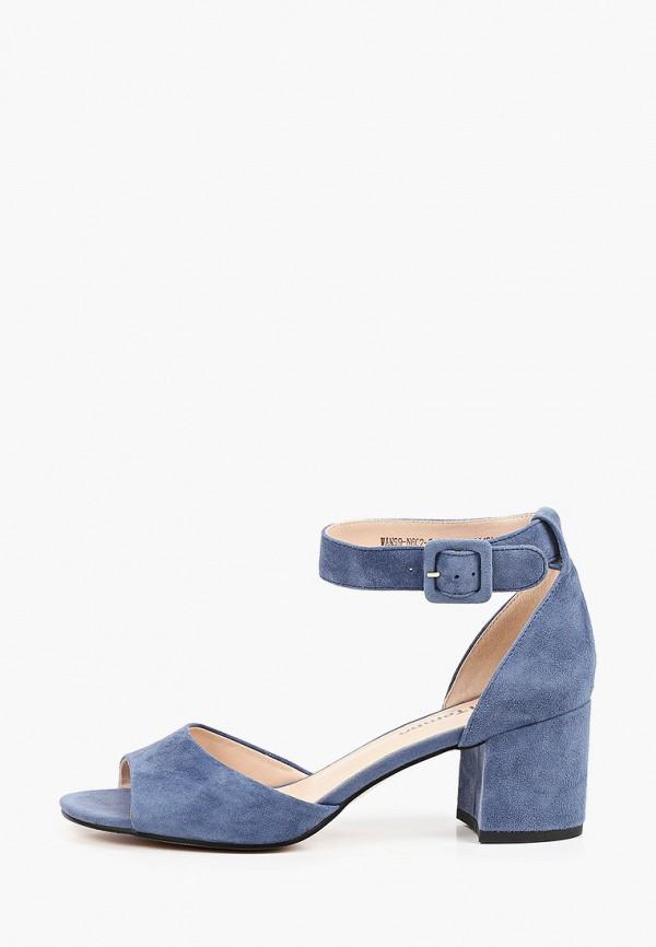 женские босоножки el tempo, синие