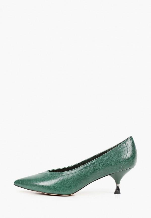 женские туфли-лодочки el tempo, зеленые