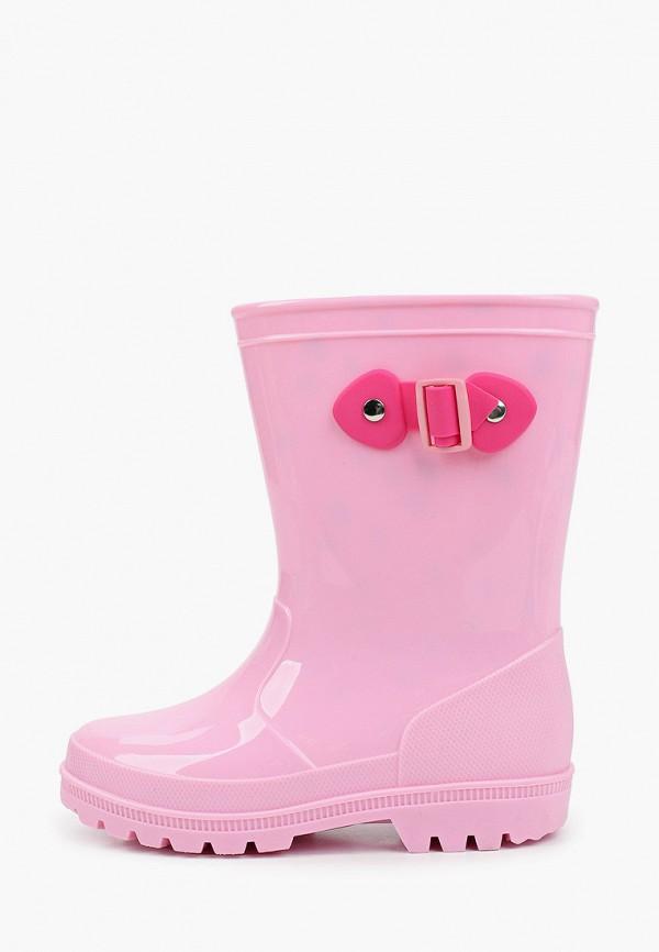 резиновые сапоги kapika для девочки, розовые